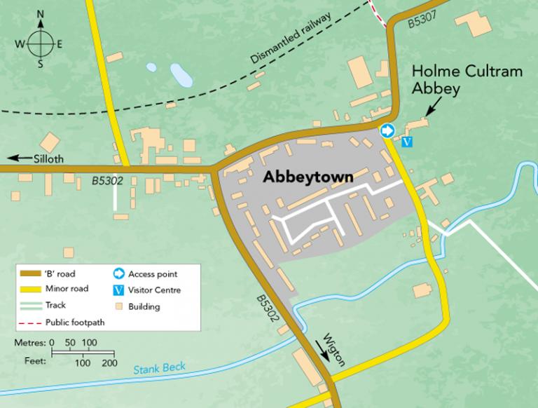 Abbeytown Holme Cultram Abbey