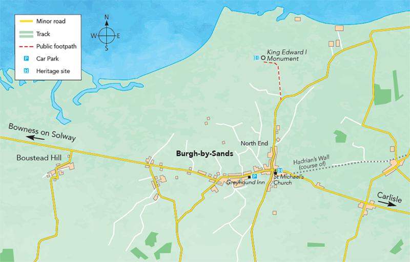 Burgh-by-Sands Map Map M