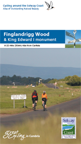 Cycling Finglandrigg Wood and King Edward Monument