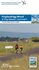 Cycling Finglandrigg Wood and King Edward Monument