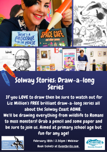 Solway Stories: Draw-a-long Tutorial. The Romans at Milefortlet 21 @ Webinar