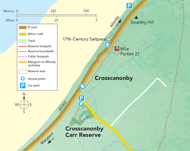Crosscanonby Map M